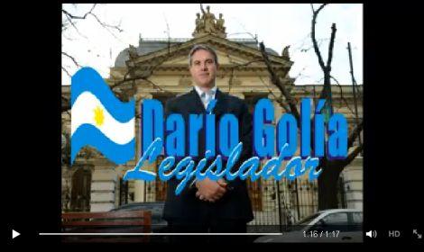 Proyectos del legislador Darío Golía